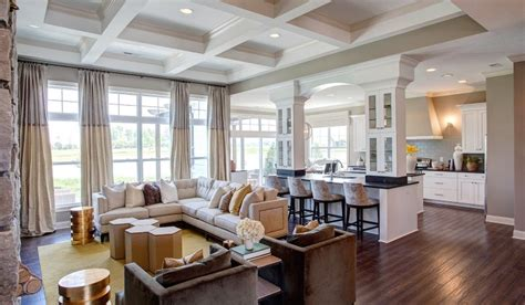 model homes interior design great rooms collection
