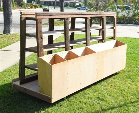 rolling lumber storage rack woodworking projects plans