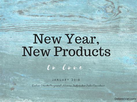 new year new norwex products 2018