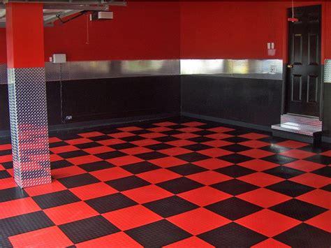 Garage Flooring  Epoxy And Racedeck Flooring In St Louis