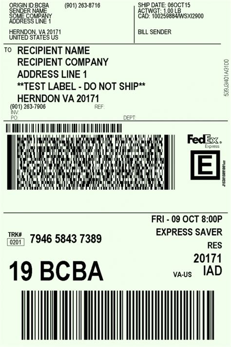 Usps Shipping Label Template Free Printable Shipping Label Template Word Pdf