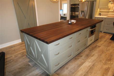 black walnut butcher block countertop walnut edge grain butcher block countertop detroit by 7911