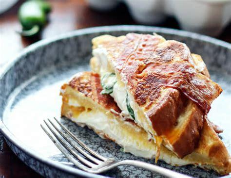 Jalapeno Popper Stuffed French Toast