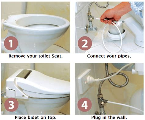 installing a bidet how to measure your toilet how to install a bidet toilet