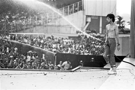 Lynn Goldsmith Mick Jagger Performing 1978