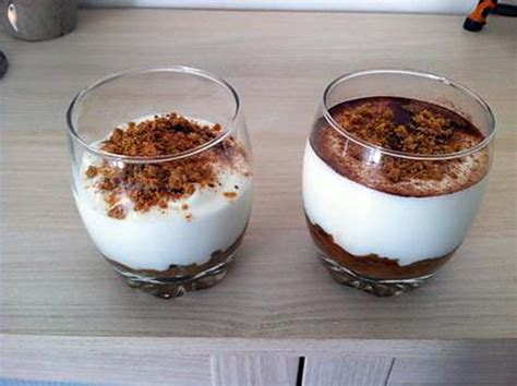 dessert avec fromage blanc recette de verrine speculoos fromage blanc
