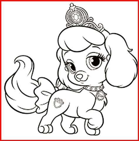 ausmalbild prinzessin hund rooms project rooms project