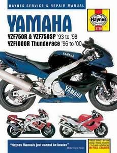 Yamaha Yzf750r  Yzf750sp  And Yzf1000r Thunderace Service
