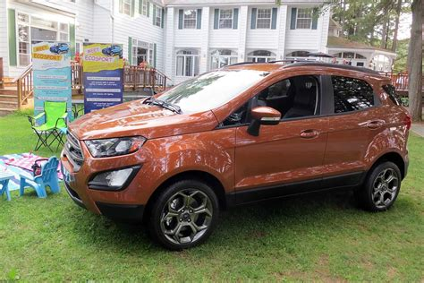 New Ford Suv 2018 by Look Ford S All New 2018 Ecosport Compact Suv