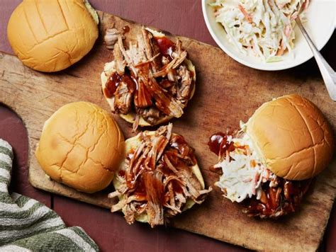 instant pot barbecue pulled pork sandwiches recipe food