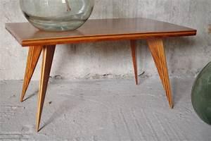 Table Pieds Compas : table basse bois pieds compas les vieilles choses ~ Teatrodelosmanantiales.com Idées de Décoration