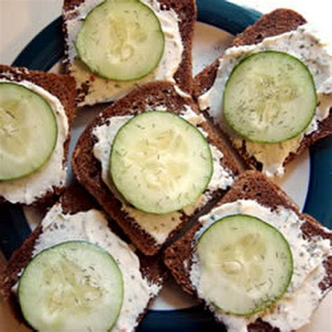 rye bread canapes 10 best cucumber rye bread appetizer recipes yummly