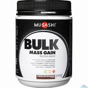 Musashi Bulk Chocolate Flavour Protein Powder