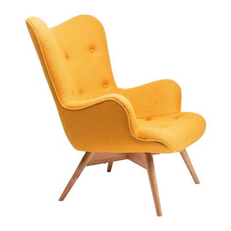 canape lit confort fauteuil scandinave jaune wings kare design