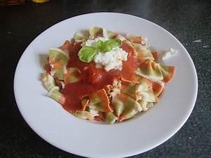 Tomate Mozzarella Rezept : penne tomate mozzarella rezept mit bild von ~ Lizthompson.info Haus und Dekorationen