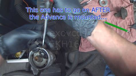 vw  distributor hall sensor replacement vacuum advance