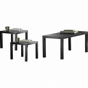 parsons 3 piece coffee end tables value bundle multiple With 3 piece coffee table and end tables