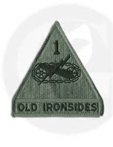 Unit Patches U.S. Army Old Ironside
