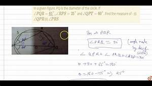 35 In The Diagram  Is A Diameter Of Circle O  If The Slope