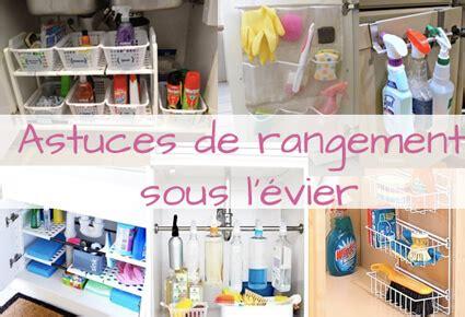 Rangement Sous Evier 6 Astuces De Rangement Sous L 233 Vier Organisation Maison