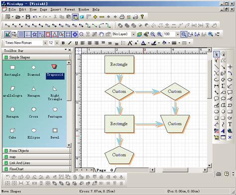 godiagram component net diagramming java