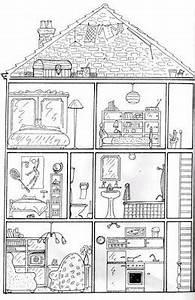 Dessin Intérieur Maison : coloriage maison imprimer liberate ~ Preciouscoupons.com Idées de Décoration