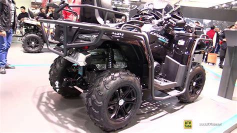 cf moto 850 2017 cfmoto cforce 850 xc recreational atv walkaround 2016 eicma milan
