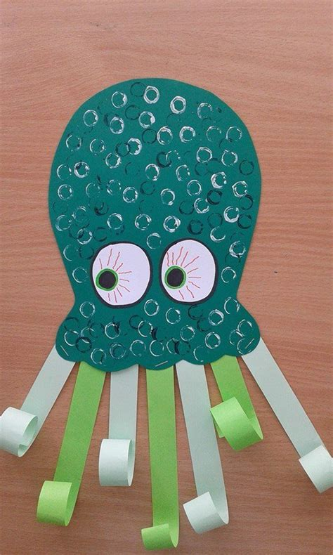 500 best images about the sea themed ideas on 132 | e8958ba48b517872f6636e0bec1b3576 octopus crafts good craft
