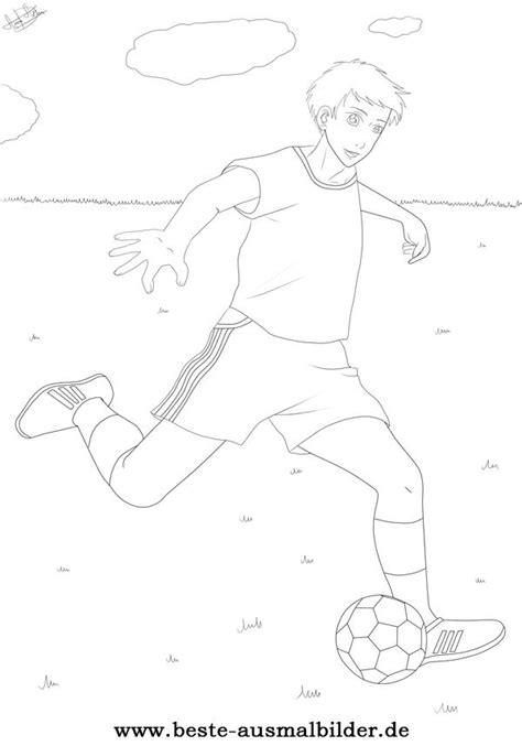 fussballspieler ausmalbild ausmalbilder von sportarten