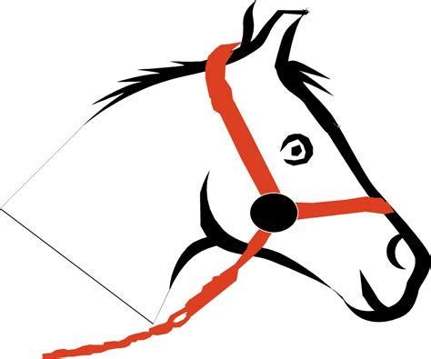 horse head clip art  clipartsco
