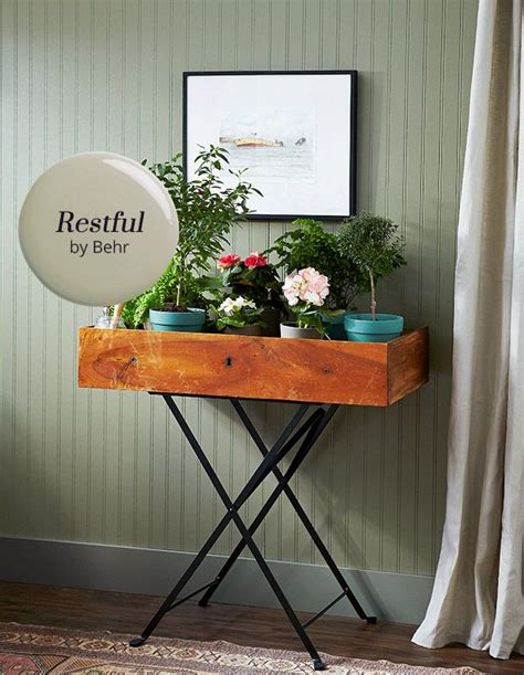 paint color restful by behr in 2018 decorating