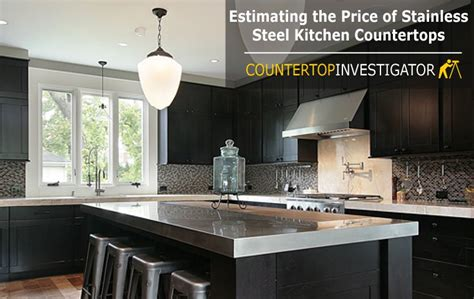 cost of stainless steel countertops stainless steel countertops cost let s do a estimation