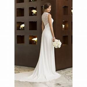Sample wedding dress d1611 essense of australia for Wedding dress sample size