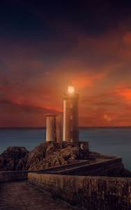 Sunset Lighthouse - Download Free HD Mobile Wallpapers