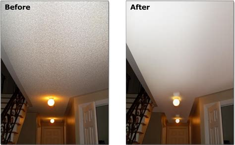 popcorn ceiling removal drywall repair chandler