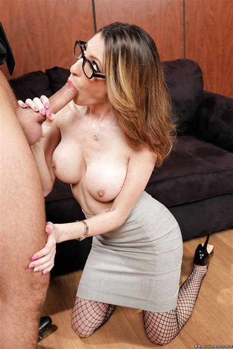 Brunette Teen Big Tits Glasses