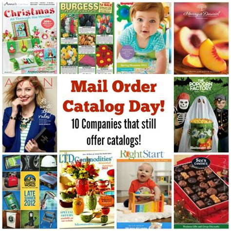 10 Companies That Still Offer Mail Order Catalogs