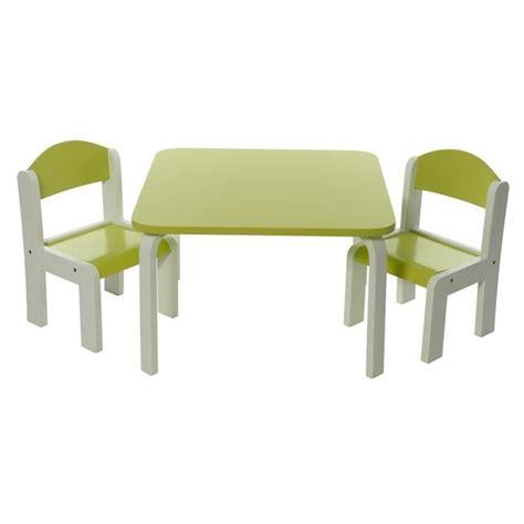 table et chaises enfants ensemble table et chaises enfant vert en bois fabio momo