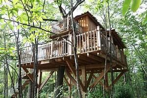 Constructeur Cabane Dans Les Arbres : cabane passerelle nidperch constructeur de cabane ~ Dallasstarsshop.com Idées de Décoration