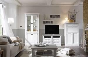 Vintage Wohnzimmer Möbel : wohnwand maisonette vintage wei mit sekret r von wehrsdorfer m bel letz ihr online shop ~ Frokenaadalensverden.com Haus und Dekorationen