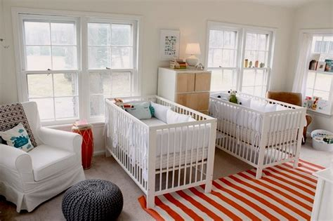 Baby Nursery Decor Series  Room For Twins