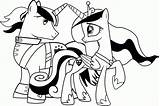 Coloring Pony Pages Little Boy Printable Popular Friendship Magic sketch template