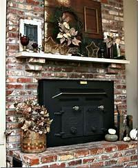 excellent rustic mantel decoration ideas Amber Glass Rustic Mantel Decor | Christmas Ideas Tour - Petticoat Junktion