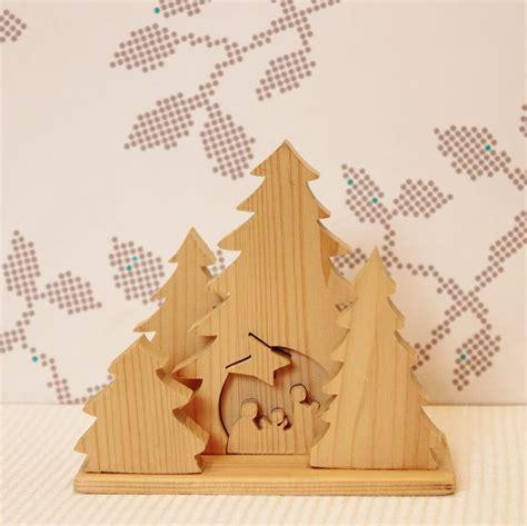 kleine houten kerststal kerst pinterest hout kerst