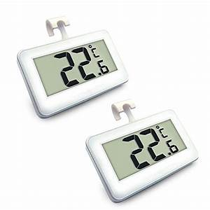 Thermometer Für Kühlschrank : expower 2er st ck digital k hlschrank thermometer wasserdicht gefrierschrank thermometer mit ~ Orissabook.com Haus und Dekorationen