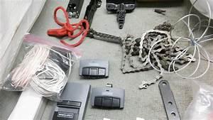 Craftsman 1  2 Hp Garage Door Opener Chain Drive 2 Remotes