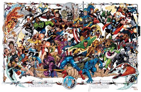 avengers poster comic art community gallery  comic art