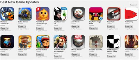 Apple Rolls Out Section For 'best New Game Updates' On App