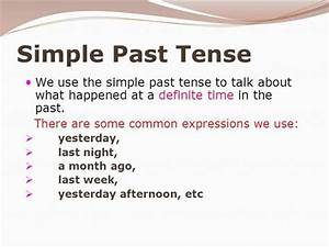 WTP 2 Diligence 2016: Simple Present Tense and Simple Past Tense