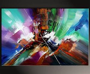 Zeitgenössische Kunst Kaufen : original auf leinwand abstrakt zeitgen ssische kunst von dieu looking back inspire art ~ Avissmed.com Haus und Dekorationen